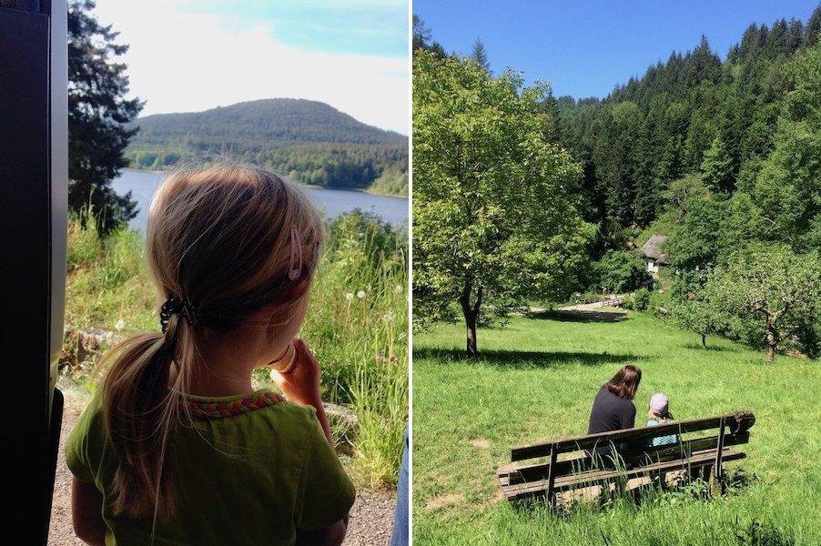 Camping im Schwarzwald mit Kind SChwarzenbach Talsperre
