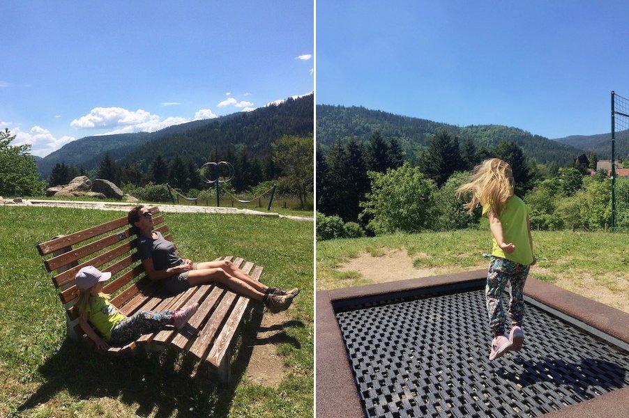 Camping im Schwarzwald mit Kind Spielplatz Schwarzwald