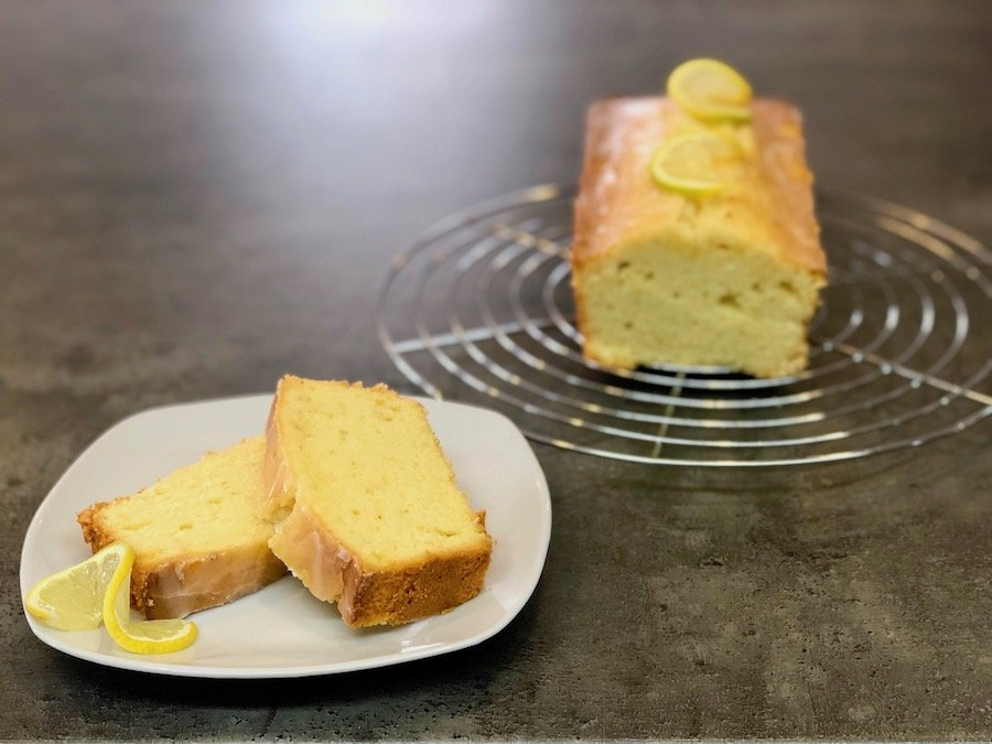 Einfacher Zitronenkuchen Rezept