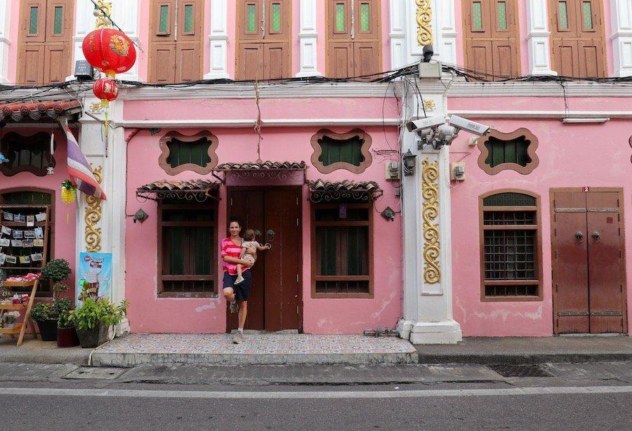 Thailand Rundreise mit Kindern Phuket Stadt