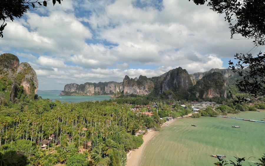 Thailand Rundreise mit Kindern Railay Beach