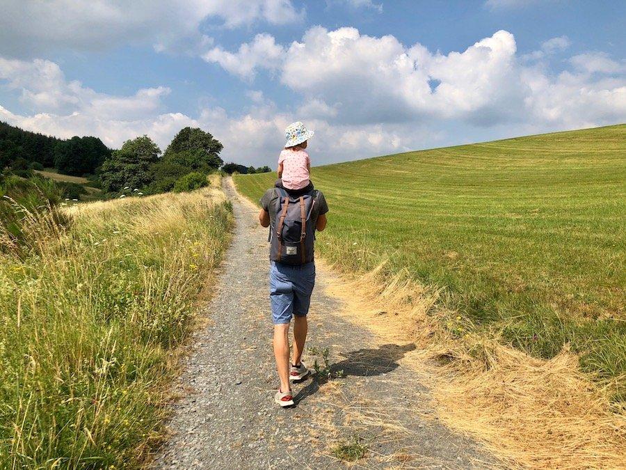Eifel mit Kindern Urlaub in der Vulkaneifel Wandern