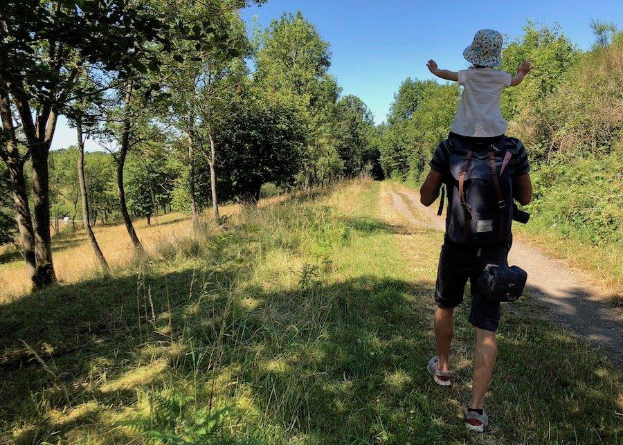 Eifel mit Kindern Urlaub Vulkaneifel Wandern