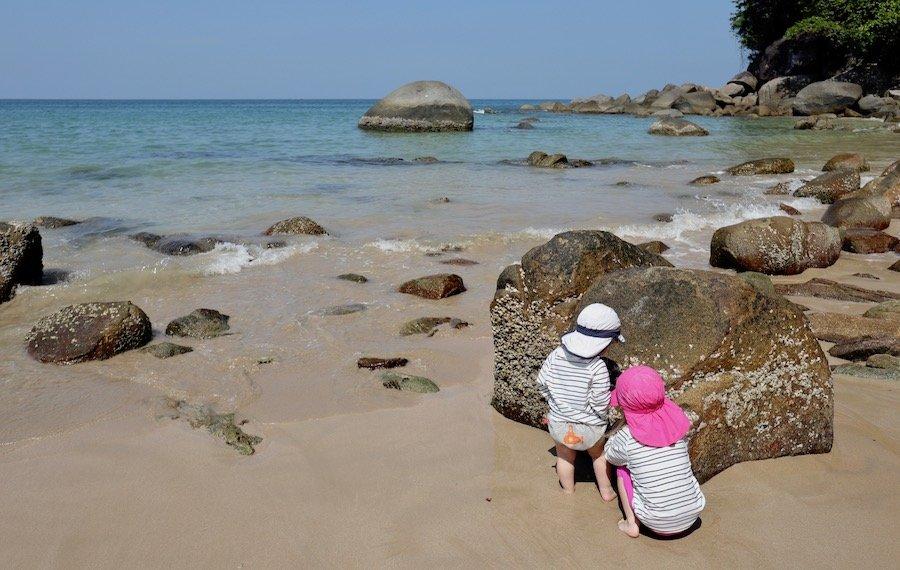 Entspannt reisen mit Kleinkind Tipps minimalistisch reisen mit Kindern