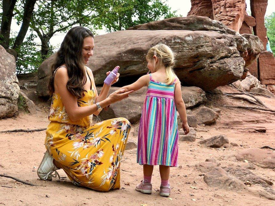 Insektenschutz Kleinkinder und Familie