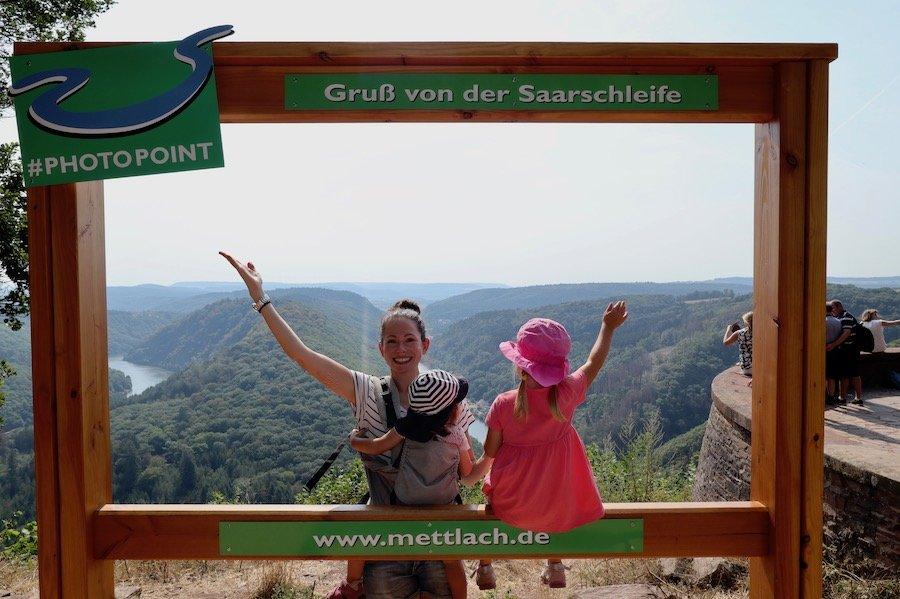 Saarschleife Aussichtspunkt Cloef