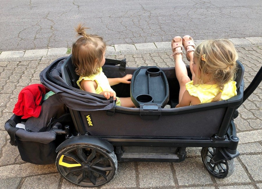 Veer All-Terrain Cruiser für zwei Kinder