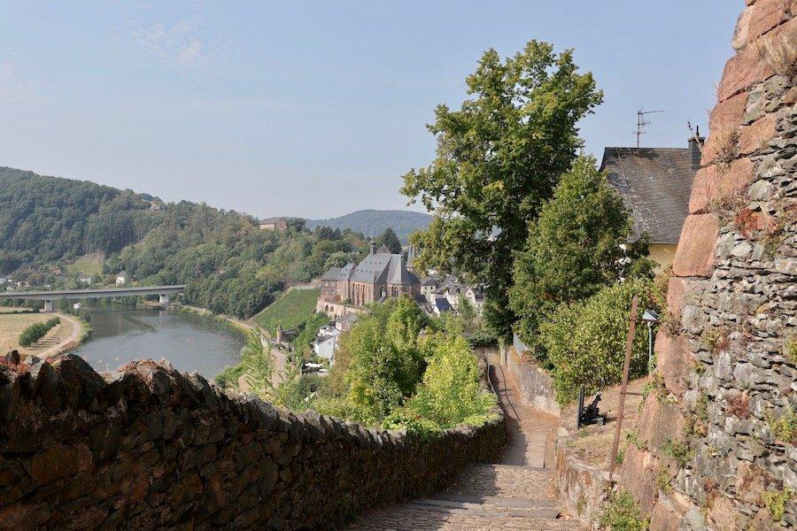 Saarburg Sehenswürdigkeit Burg