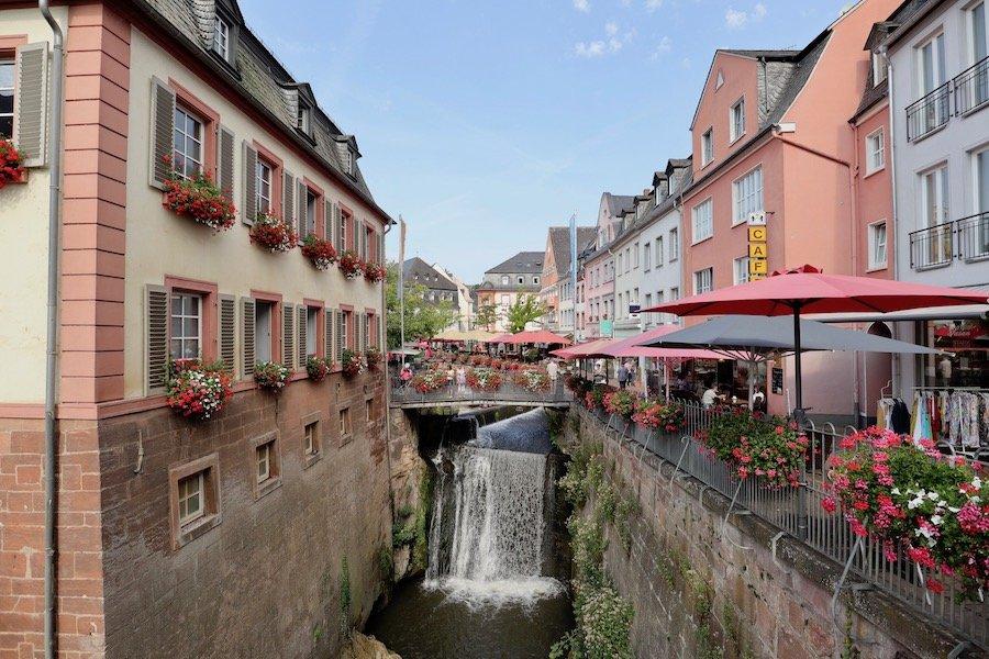 Saarburg Wasserfall