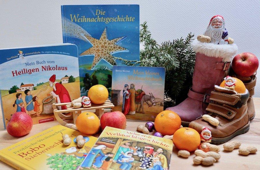 Nikolaus Geschenk Kinder Bücher