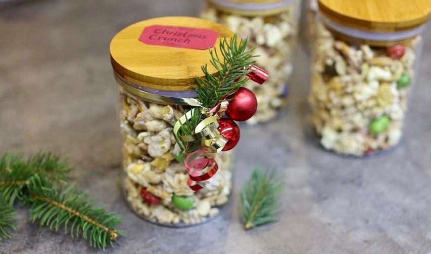 Christmas Crunch Rezept Geschenk
