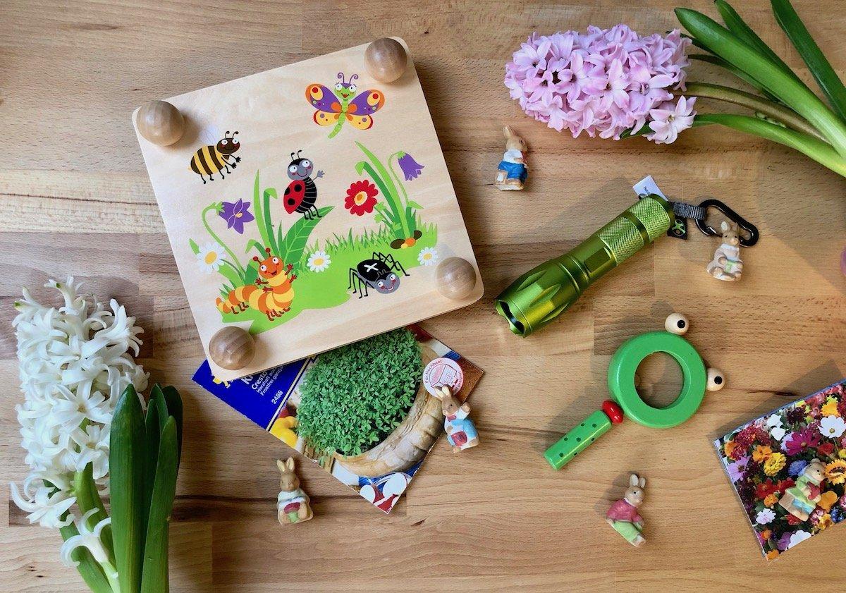 Ostergeschenke für Kinder Natur