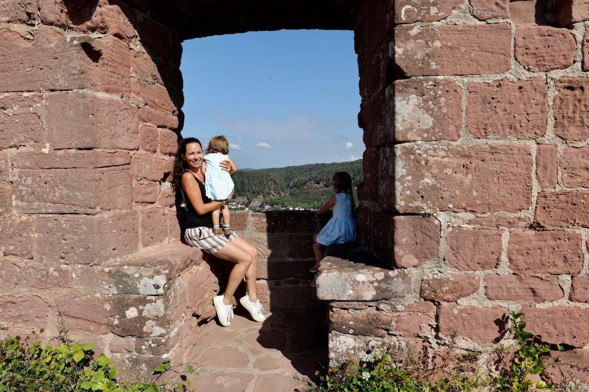 Dahn mit Kindern Burgen